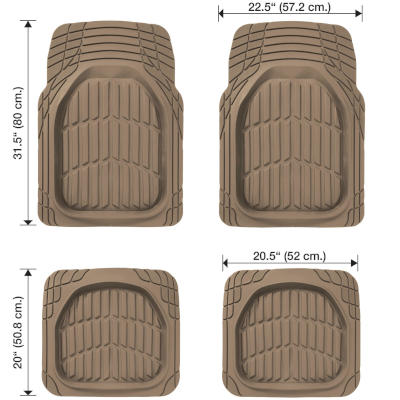 Mats for 4x4 and Pickup Trucks