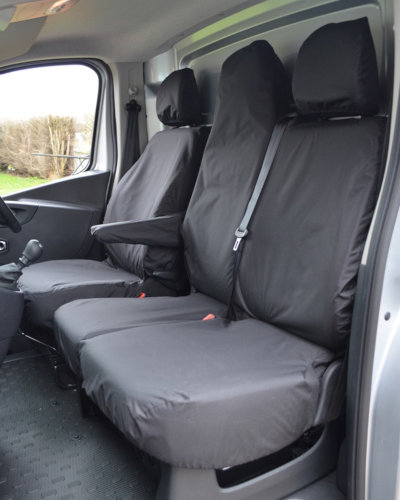Fiat Talento Seat Covers - Van Double