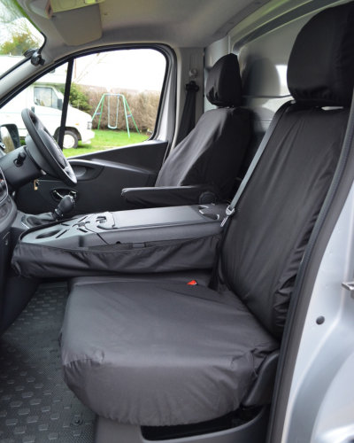 Fiat Talento Seat Covers - Fold-Down Middle Seat