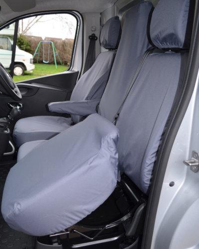 Fiat Talento Van Seat Covers - Storage