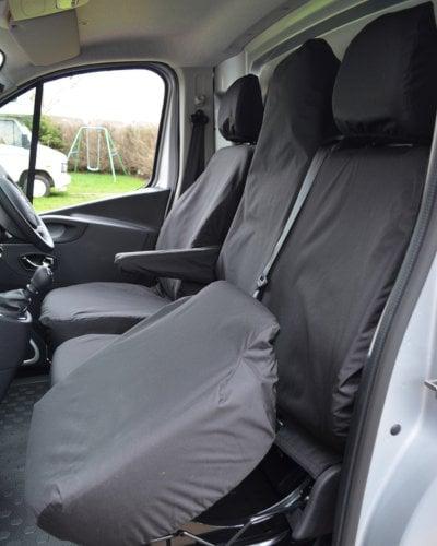 Fiat Talento Van Seat Covers - Under Seat