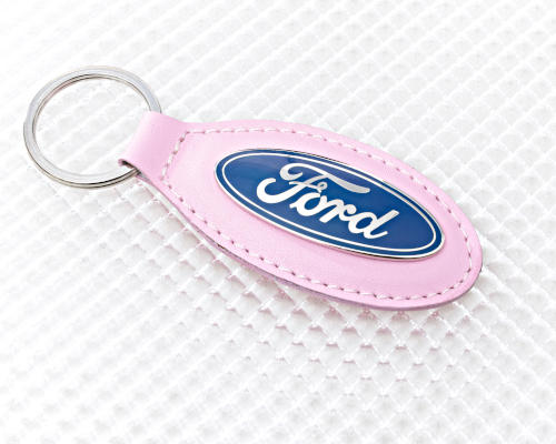 Pink Ford Keyring