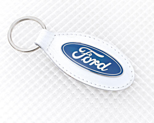 Ford Keyring - White