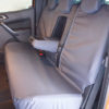 Tailored Rear Seat Cover for Ford Ranger in Grey