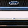 Front Number Plate Surround in Chrome with Ford logo