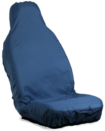 Blue Front Seat Covers