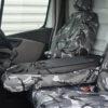 NV300 Dual Seat Covers - Camo Folded