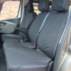 NV300 Van Front Seat Covers - Black