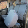 NV300 Van Grey Front Seat Cover Folded