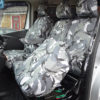 NV300 Van Grey Camo Front Seat Cover Folded