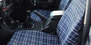 Tartan Seat Covers
