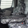 Renault Trafic Fold Flat Centre Seat Cover in Camo