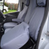 Renault Trafic Tilt Forward Seat Covers in Grey