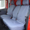 Trafic Tailored Front Seat Covers in Grey