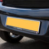 Chrome Rear Number Plate Surround with Vauxhall logo