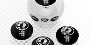 Aluminium Gear Knob with inserts for Vauxhalls
