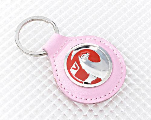 Pink Vauxhall Keyring