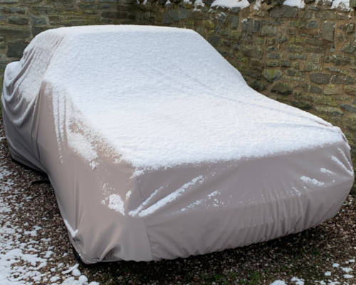 Car Cover Outdoors