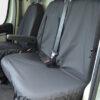 Citroen Relay Seat Covers - Black