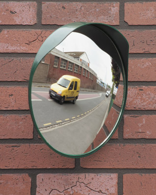 Convex Mirror for Blind Spots