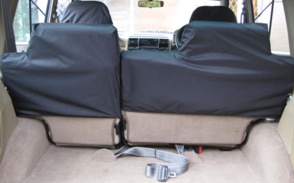 Land Rover Discovery 1 Rear Black Seat Covers
