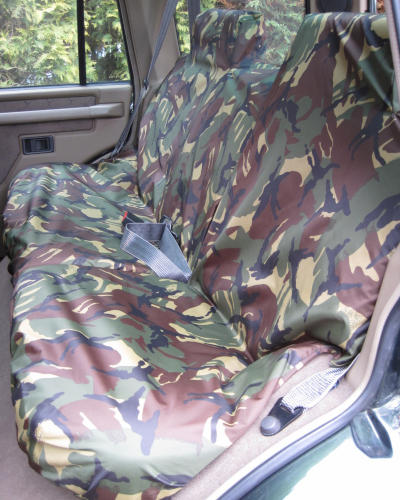 Land Rover Discovery 1 Rear Camo Seat Covers