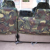 Land Rover Discovery 1 Rear Green Seat Covers