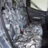Camouflage Rear Seat Cover for Fiat Fullback Pick-Up Truck