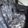 Camouflage Cover - Fiat Fullback Pick-Up Truck Rear Bench Seat