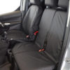 Ford Transit Connect Dual Passenger Seat Cover - Black