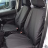 Black Van Seat Covers - Ford Transit Connect Panel Van