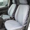 Grey Van Seat Covers - Ford Transit Connect Panel Van