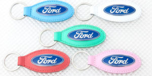 Ford Leather Keyring