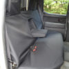 Black Rear Seat Cover for Ford Ranger Pickup Truck