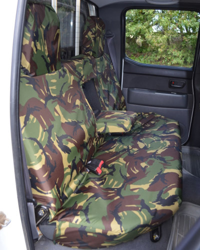 Green Camo Rear Seat Cover for Ford Ranger Pickup Truck