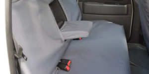 Grey Rear Seat Cover for Ford Ranger Pickup Truck