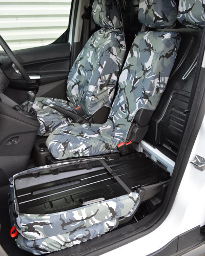 Ford Connect Seat Cover for Load Through Bulkhead Seat