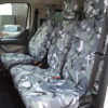 Ford Transit Custom Camouflage Van Seat Covers