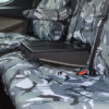 Fold-out table option on Ford Transit Custom Van dual passenger seat