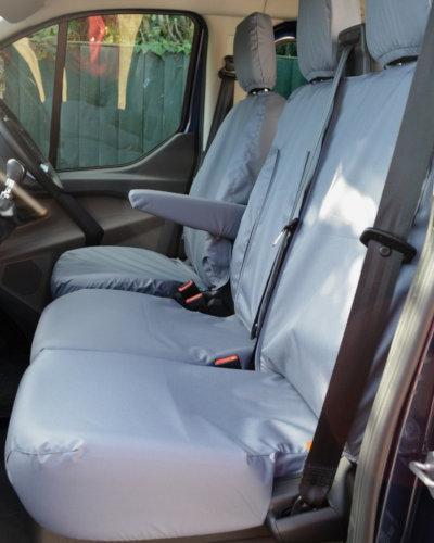 Ford Transit Custom Van Tailored Passenger Seat Covers