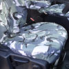 Ford Transit Tailored Van Front Seat Cover in Camouflage Grey