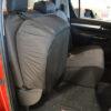 Hilux Mk8 Black Rear Seat Cover