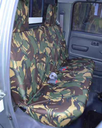 Hilux Rear Seat Covers