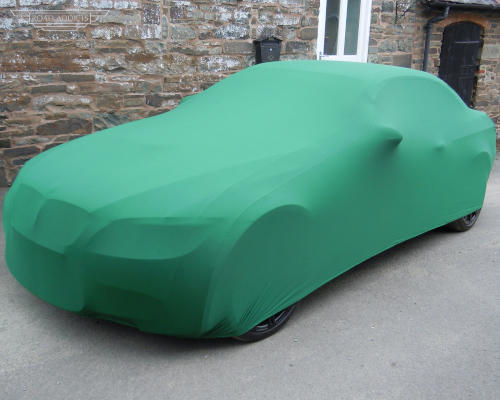 Green Car Cover for Indoor Use