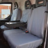 Grey Seat Covers - Iveco Daily Van