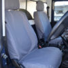 Land Rover Defender Grey Tailored Front Seat Covers