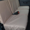 Land Rover Defender Seat Covers - 2nd Row Beige