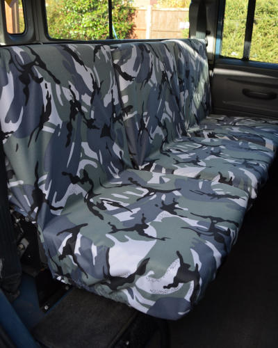Land Rover Defender Seat Covers - 2nd Row Camo