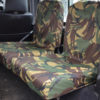 Land Rover Defender Back Seat Covers - Camo