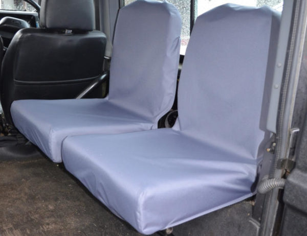 Land Rover Defender Back Seat Covers - Grey
